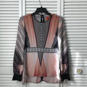 Clover Canyon Ballerina Diamond printed top